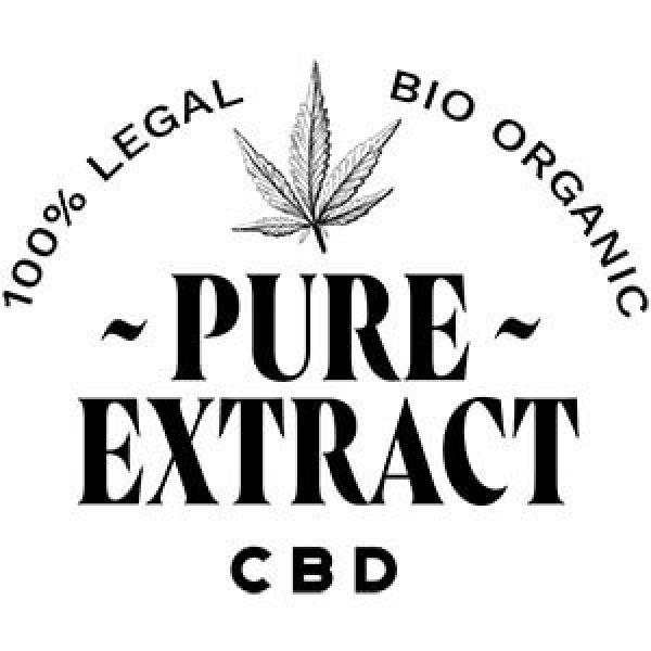 pure extract cbd logo